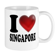 I Heart Singapore Mug