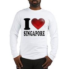 I Heart Singapore Long Sleeve T-Shirt