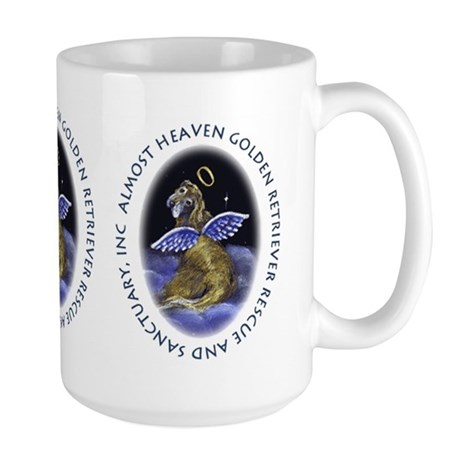 Almost Heaven's Angel Big Mug