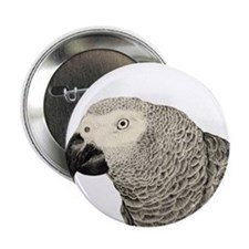 """The Wise Grey 2.25"""" Button"""