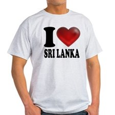 I Heart Sri Lanka T-Shirt
