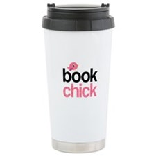 Cute Book Travel Mug