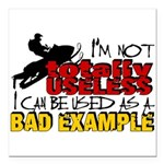 Not Totally Useless - Sn Square Car Magnet 3