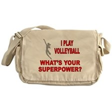VOLLEYBALL WHATS YOUR SUPERPOWER Messenger Bag
