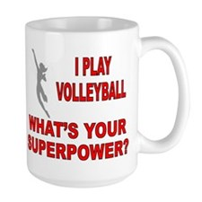 VOLLEYBALL WHATS YOUR SUPERPOWER Mug