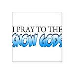 Snow Gods Square Sticker 3