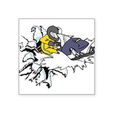 """Bustin' Out Square Sticker 3"""" x 3"""""""