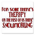 therapy.png Square Car Magnet 3