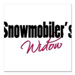 snowwidow332bm.png Square Car Magnet 3