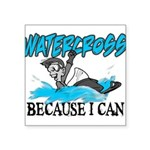 WATERCROSSS.png Square Sticker 3