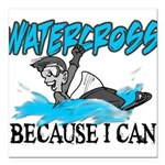 WATERCROSSS.png Square Car Magnet 3