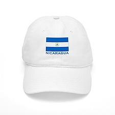 Flag of Nicaragua Baseball Cap