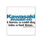 kawiinvader.png Square Sticker 3