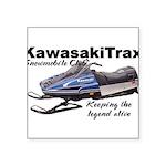 KawasakiTrax Square Sticker 3