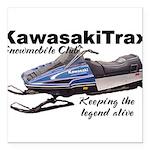 KawasakiTrax Square Car Magnet 3