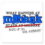 mbank.png Square Car Magnet 3