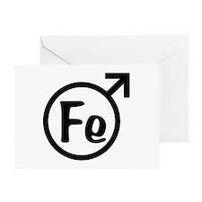 Fe Man Greeting Card