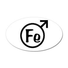 Fe Man Wall Sticker