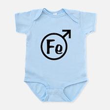 Fe Man Infant Bodysuit