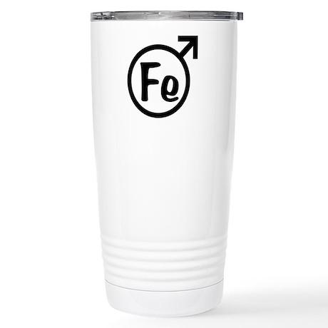 Fe Man Stainless Steel Travel Mug