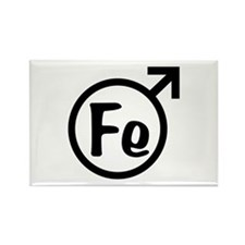 Fe Man Rectangle Magnet