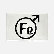 Fe Man Rectangle Magnet