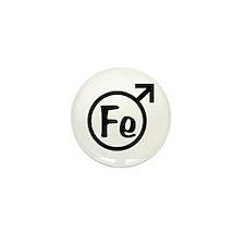 Fe Man Mini Button (10 pack)