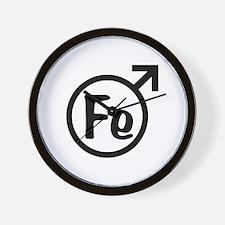 Fe Man Wall Clock