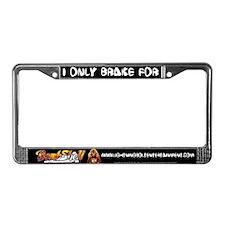 BombShell License Plate Frame