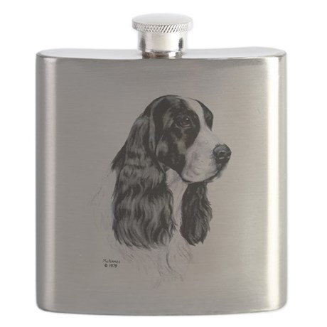 English Springer Spaniel Flask