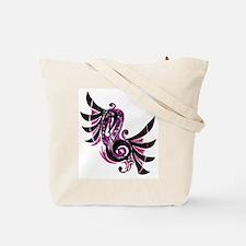 Musical Note Tote Bag