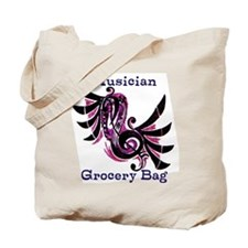 Musician Grocery Tote Bag