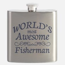 Awesome Fisherman Flask