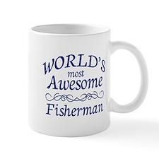 Awesome Fisherman Small Mug