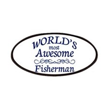 Awesome Fisherman Patches