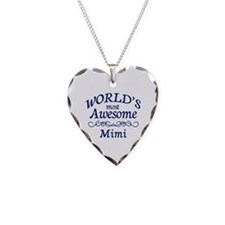 Awesome Mimi Necklace Heart Charm
