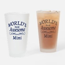 Awesome Mimi Drinking Glass
