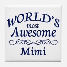 Awesome Mimi Tile Coaster