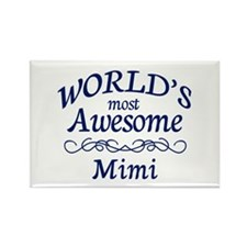 Awesome Mimi Rectangle Magnet