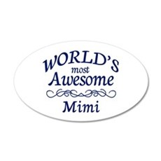Awesome Mimi Wall Decal