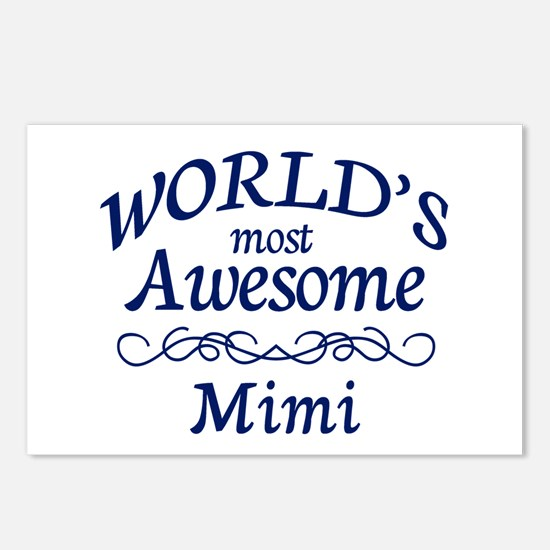 Awesome Mimi Postcards (Package of 8)
