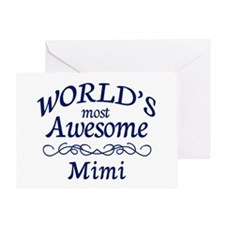 Awesome Mimi Greeting Card