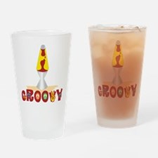 Groovy Drinking Glass