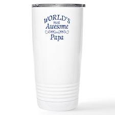Awesome Papa Travel Mug