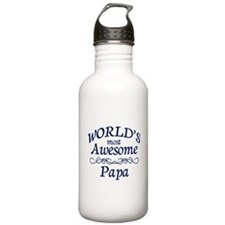 Awesome Papa Water Bottle