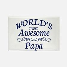 Awesome Papa Rectangle Magnet