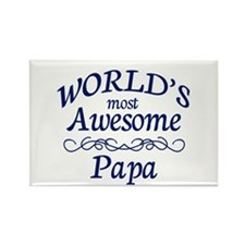 Awesome Papa Rectangle Magnet (10 pack)