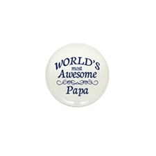 Awesome Papa Mini Button (10 pack)