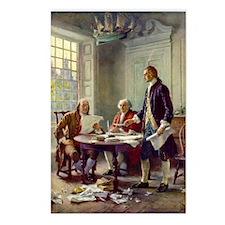 Declaration of Independence 1776 Postcards (Packag