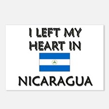 I Left My Heart In Nicaragua Postcards (Package of